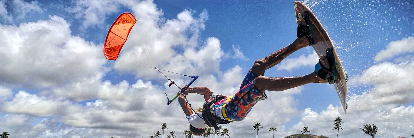 Freestyle Wave universal Kite Attitude control bar Mickael Neral
